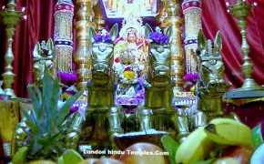 03-07-2012: The Golden Chariot Festival For Nainai Nagapoosani At Sri Raja Rajeswari Amman Temple ,Stoneleigh, Epsom,UK