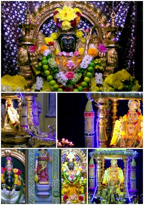 Full Moon Day Golden Chariot Festival @ Sri Raja Rajeswari Amman Temple ,UK, 30-08-2012